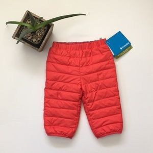 Columbia Infant Down Pants